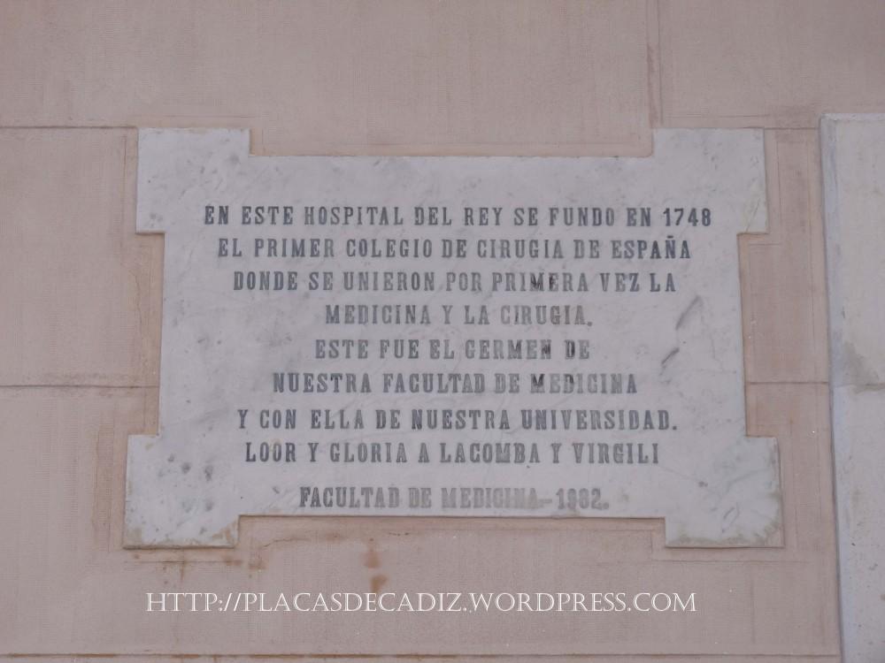 Colegio de Cirugia de la Armada. (1/2)
